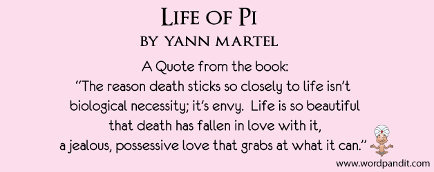 book review for life of pi
