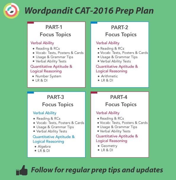 CAT-2016-Preparation-Plan