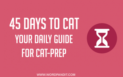 45 Days to CAT: Two Motivational Stories for you