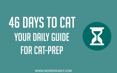 46 Days to CAT: LR-DI Prep, the six step process