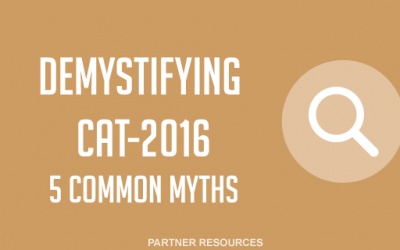 Demystifying CAT 2016: 5 common myths