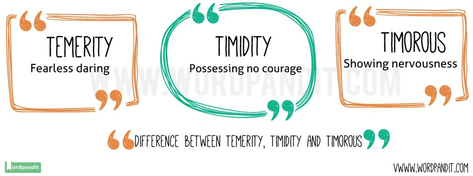 Temerity-vs-Timidity-vs-Timorous