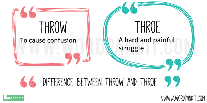 Throw-vs-Throe