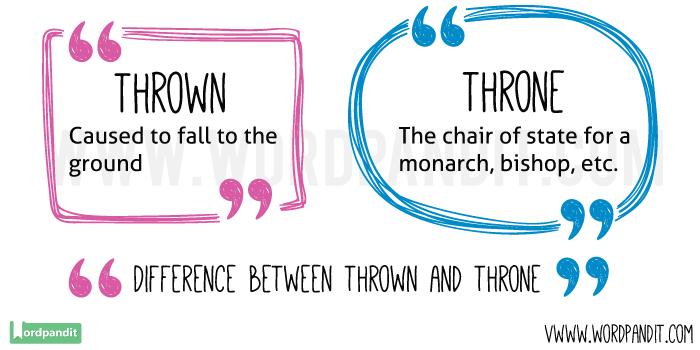 Thrown-vs-Throne